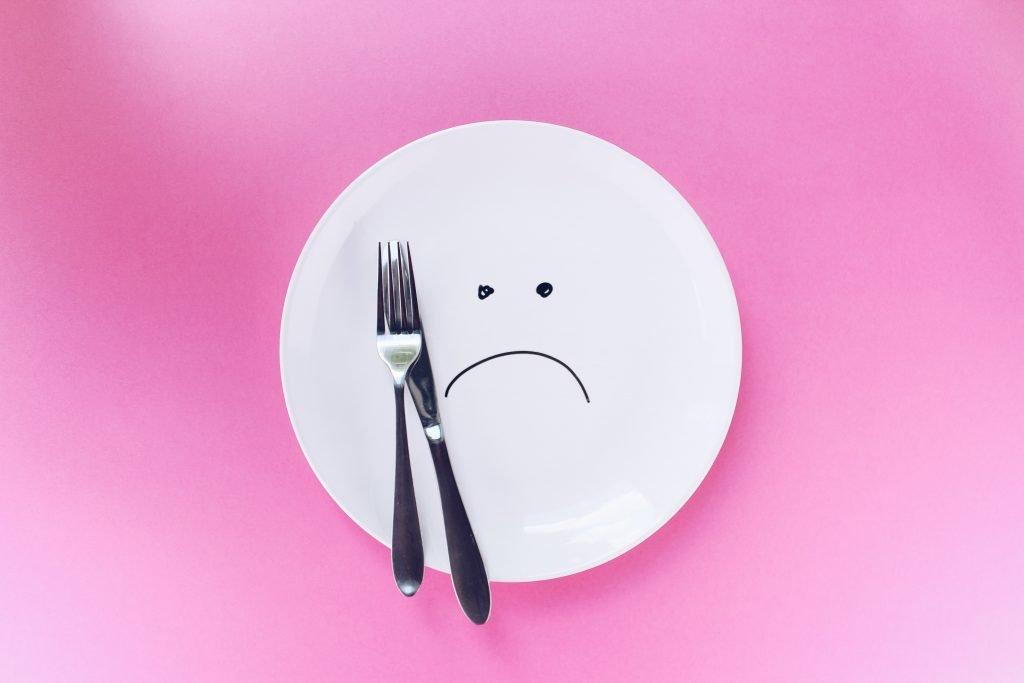 piatto senza cibo